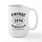 Vintage 1972 Large Mug