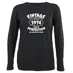 Vintage 1972 Plus Size Long Sleeve Tee