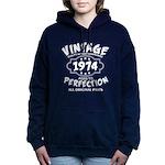 Vintage 1972 Women's Hooded Sweatshirt