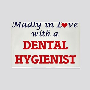 Madly in love with a Dental Hygienist Magnets