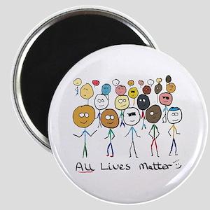 All Lives Matter 2 Magnets