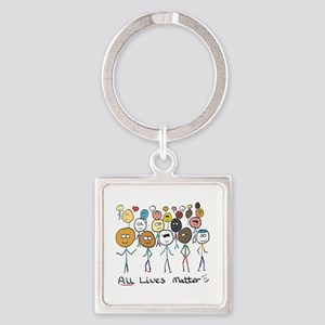 All Lives Matter 2 Keychains