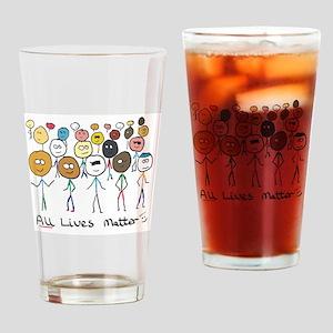 All Lives Matter 2 Drinking Glass