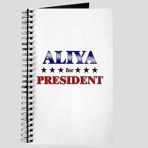 ALIYA for president Journal