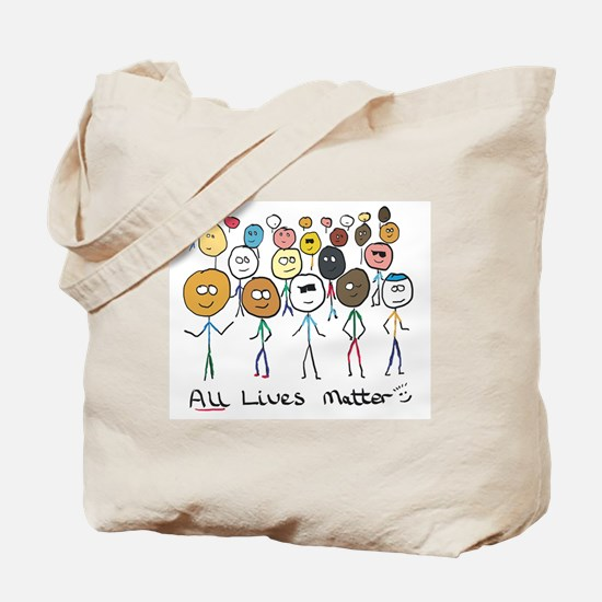 All Lives Matter 2 Tote Bag