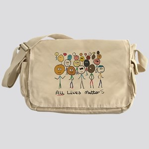 All Lives Matter 2 Messenger Bag