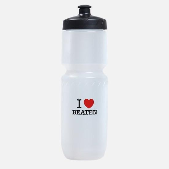 I Love BEATEN Sports Bottle