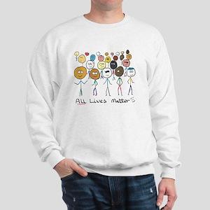 All Lives Matter 2 Sweatshirt