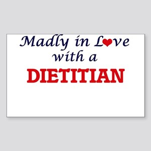 Madly in love with a Dietitian Sticker