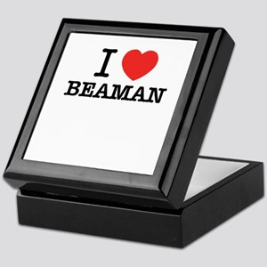 I Love BEAMAN Keepsake Box