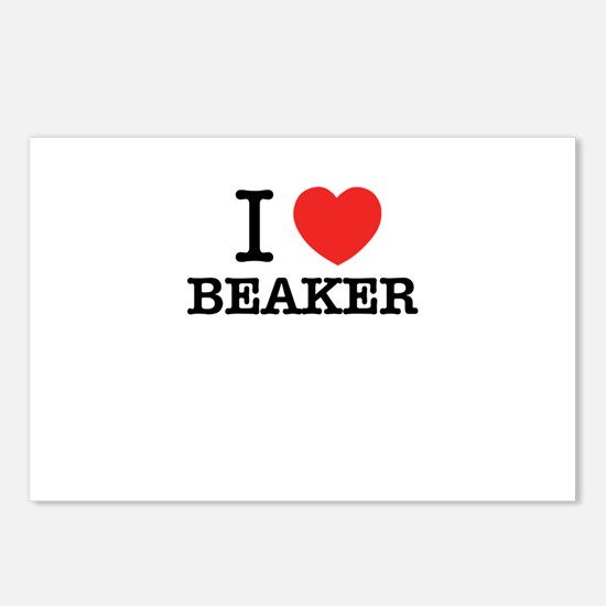 I Love BEAKER Postcards (Package of 8)