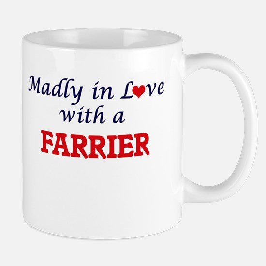 Madly in love with a Farrier Mugs