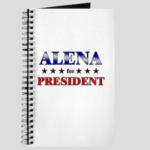 ALENA for president Journal