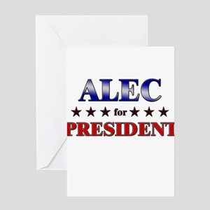 ALEC for president Greeting Card