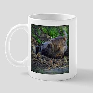 Cairn Terrier Hunting Mug