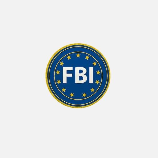 FBI Seal Mini Button