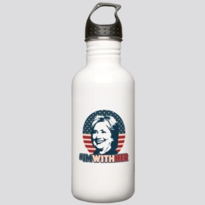 Hillary 2016 - I'm Wit Stainless Water Bottle 1.0L