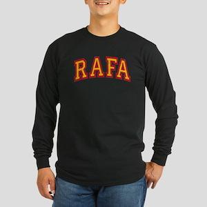 Rafa Red & Yellow Long Sleeve T-Shirt