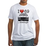 69 Mustang Fitted T-Shirt