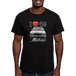 69 Mustang Men's Fitted T-Shirt (dark)