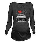 69 Mustang Long Sleeve Maternity T-Shirt