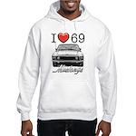 69 Mustang Hooded Sweatshirt
