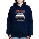 69 Mustang Women's Hooded Sweatshirt