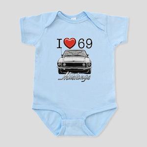 69 Mustang Infant Bodysuit