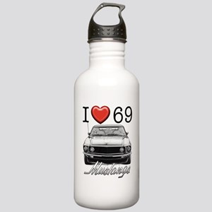 69 Mustang Stainless Water Bottle 1.0L