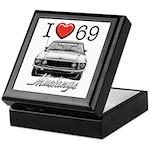 69 Mustang Keepsake Box