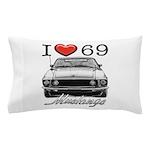 69 Mustang Pillow Case