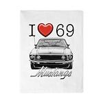 69 Mustang Twin Duvet