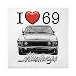 69 Mustang Queen Duvet