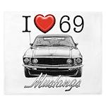 69 Mustang King Duvet
