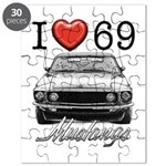69 Mustang Puzzle