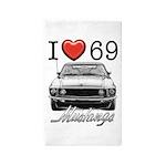 69 Mustang Area Rug