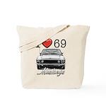 69 Mustang Tote Bag