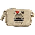 69 Mustang Messenger Bag