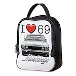 69 Mustang Neoprene Lunch Bag