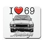 69 Mustang Mousepad