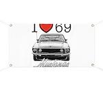 69 Mustang Banner