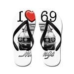 69 Mustang Flip Flops