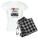 69 Mustang Women's Light Pajamas