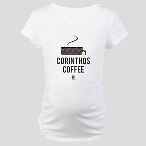Corinthos Coffee Maternity T-Shirt