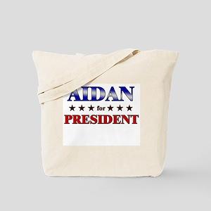 AIDAN for president Tote Bag