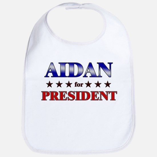 AIDAN for president Bib