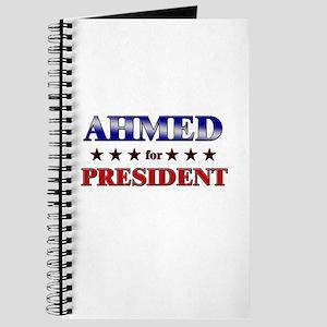 AHMED for president Journal