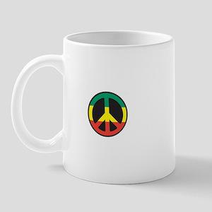 Rasta for peace Mug