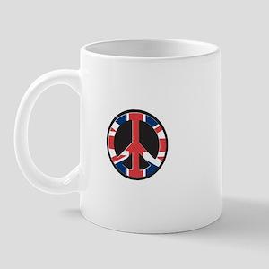 Brits for peace Mug