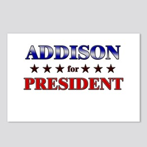 ADDISON for president Postcards (Package of 8)